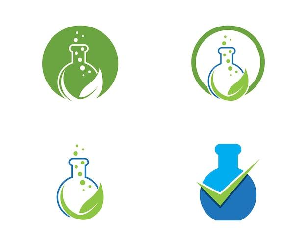 Lab logo vector template