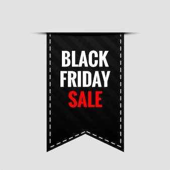 Label for black friday Free Vector