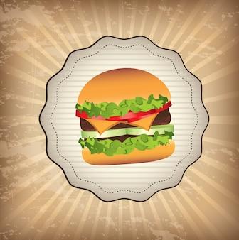 Label burger