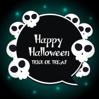 Label name happy halloween