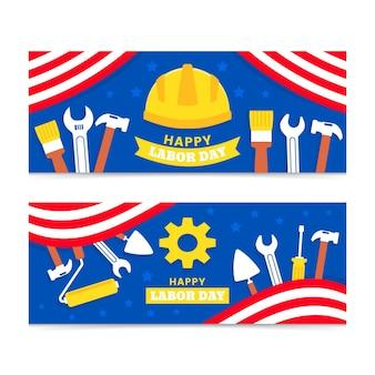 労働者の日バナーセット