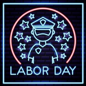 Labor day card