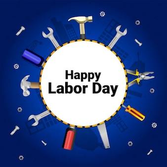노동절 축하 배경