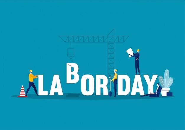 Labor day employment occupation national celebration