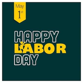 労働の日緑のパターンの背景