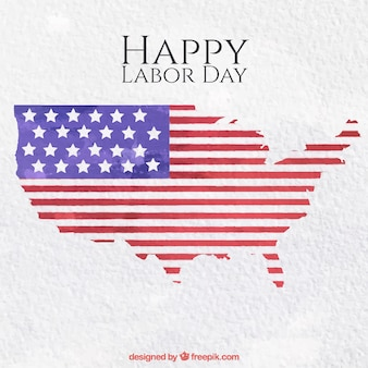 Labor day map background