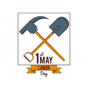 Labor day may eleven card