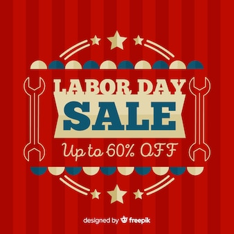 Labor day sale banner discount