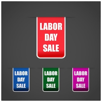 Labor day sale tags
