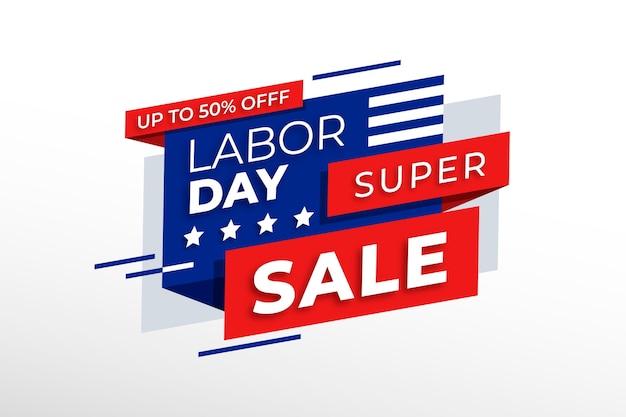 Labor day sale theme