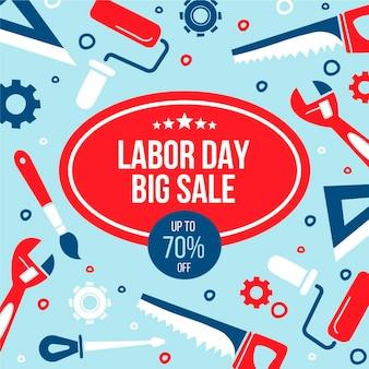 労働日セール