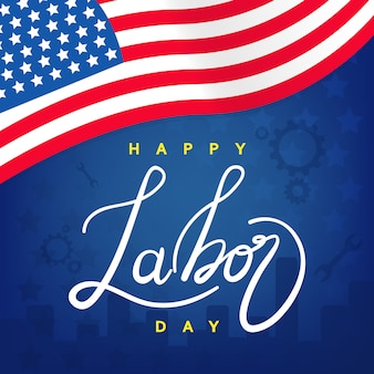 Labor day template graphic or banners  illustrations