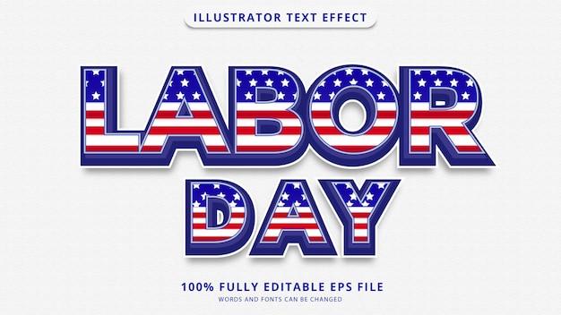 労働者の日のテキスト効果編集可能なepsファイル