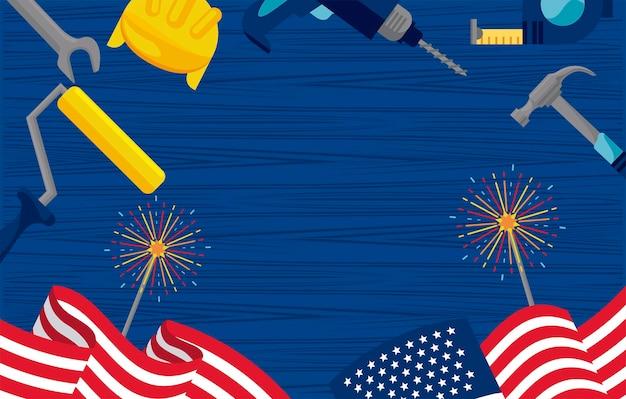 Labor day usa celebration