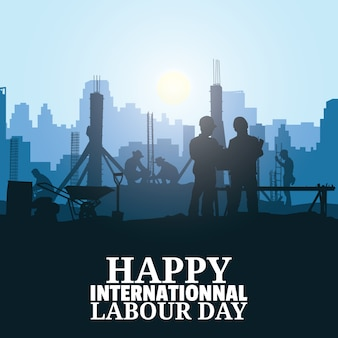 Labor day vector illustration.