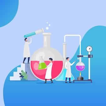 Laboratory analyzing design concept