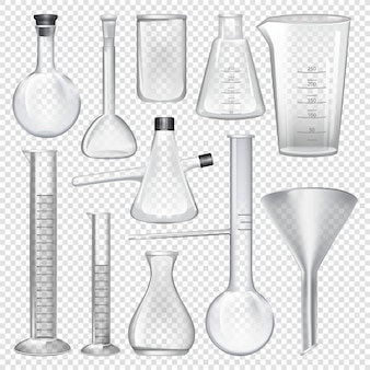 Laboratory glassware instruments.