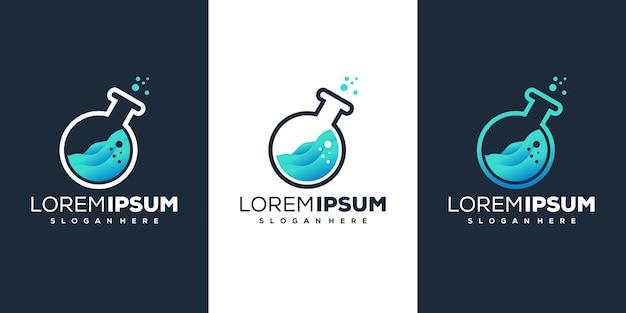 Laboratory logo design
