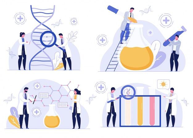 Laboratory test pharmaceutical development set