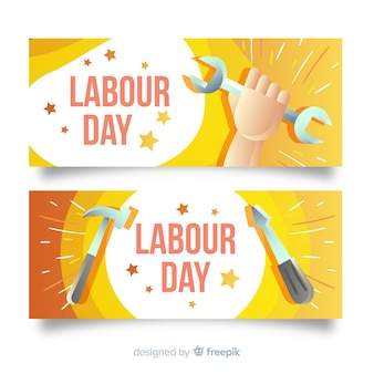 Labour day banner