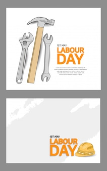 Labour day celebration template