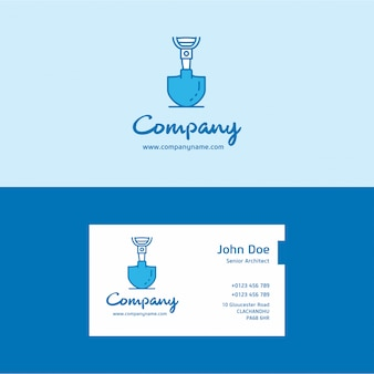 Labour day logo and business card
