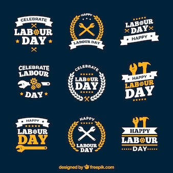 Labour day logos