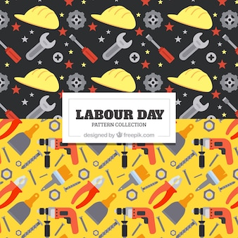 Labour day pattern