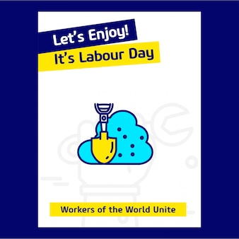 Labour day usa background