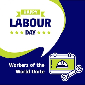 Labour day workers poster