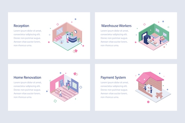 Labour and workers isometric vectors