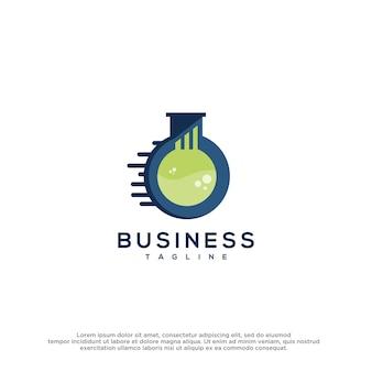 Labs logo vector design template