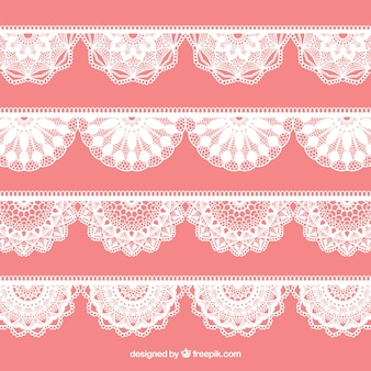 Lace decoration pack
