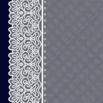 Lace decorative background