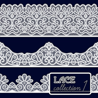 Lace patterns set