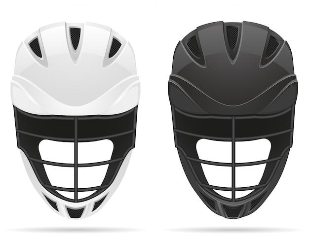 Lacrosse helmets.