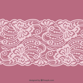 Lacy border