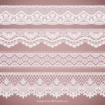 Lace vectors photos and psd files free download lacy borders collection stopboris Images