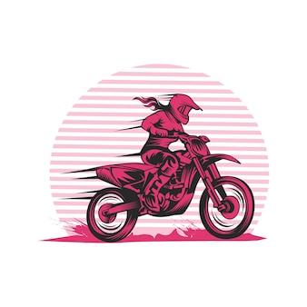 Мотокросс леди