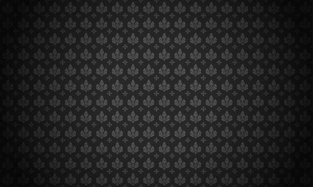 ライタイパターン黒の背景ベクトルイラスト