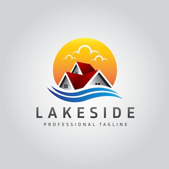 Lakeside real estate logo
