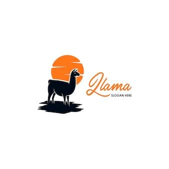 Lama logo template