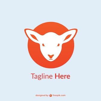 Lamb logo template