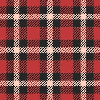 古典的なタータン、ギンガム、バッファロー、lamberjack、メリークリスマスチェック格子縞のシームレスパターン