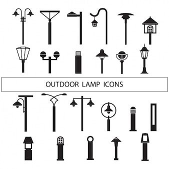 Lamps silhouettes collection