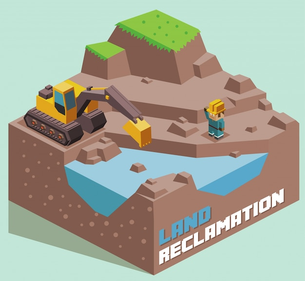 Land reclamation expanding