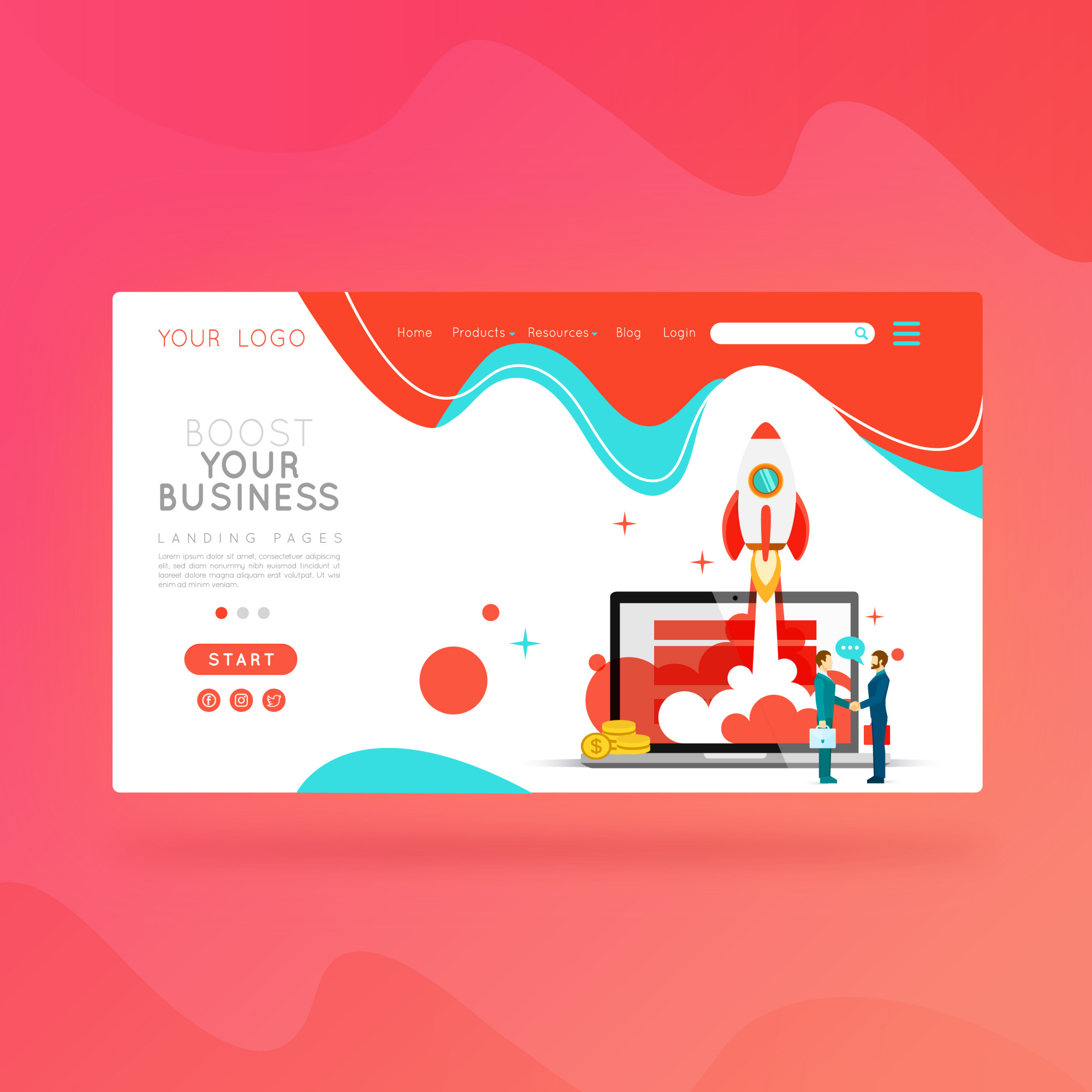 Landing page boost your business