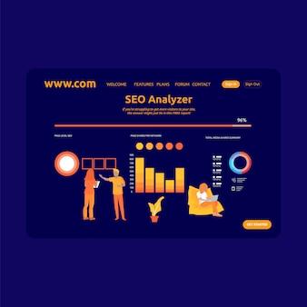 Landing page design seo analyzer