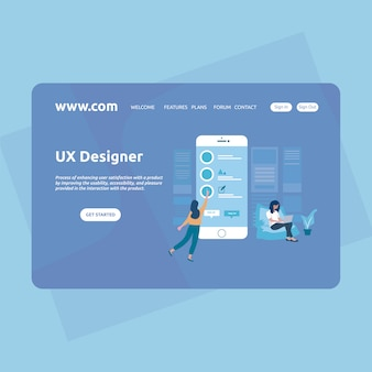 Landing Page Design Startup