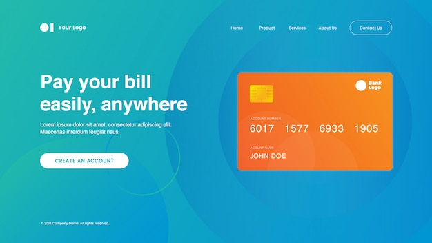 Landing page safety payment